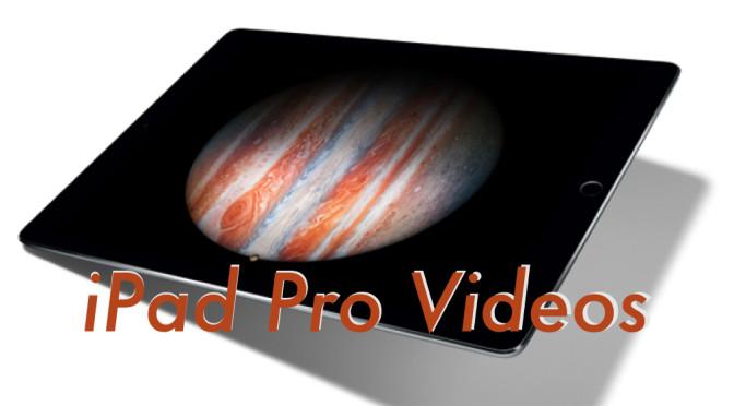 iPad Pro公式動画のまとめ(YouTube Appleチャンネルより)
