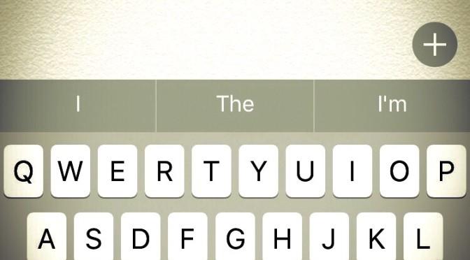 【英文字入力】最初の1字が大文字になるのを防ぐ方法