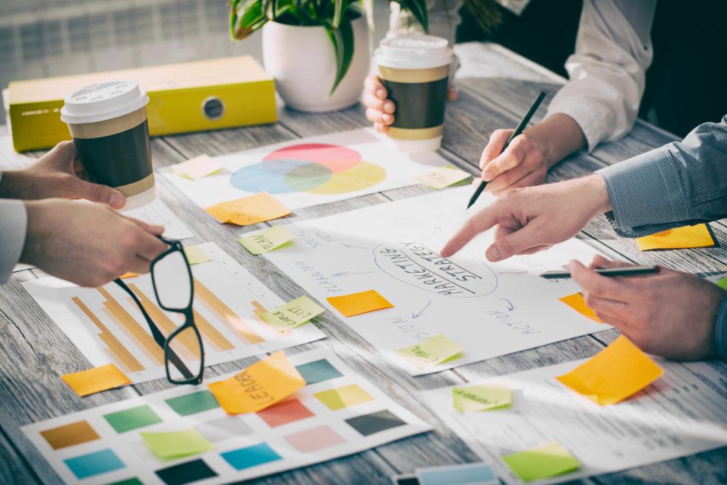 Brainstorming Brainstorm Business People Design Concepts