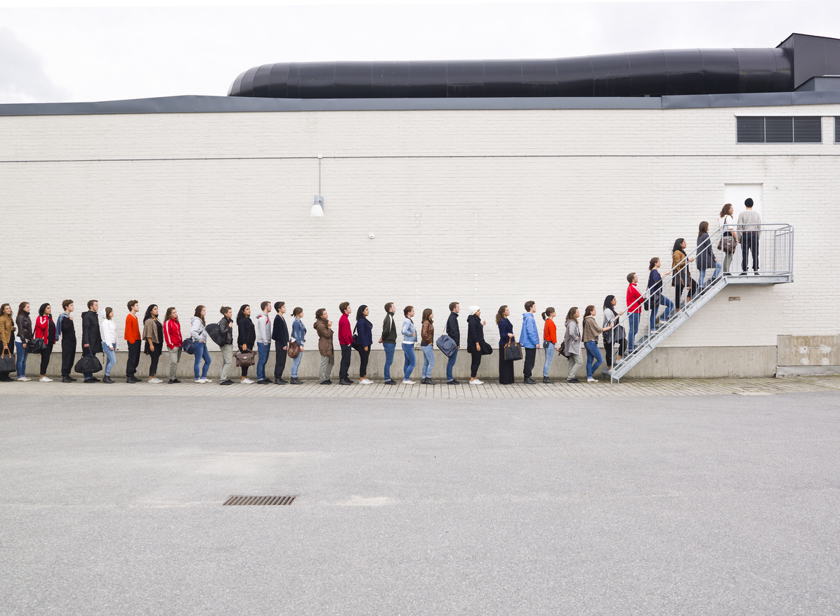 Waiting in LIne