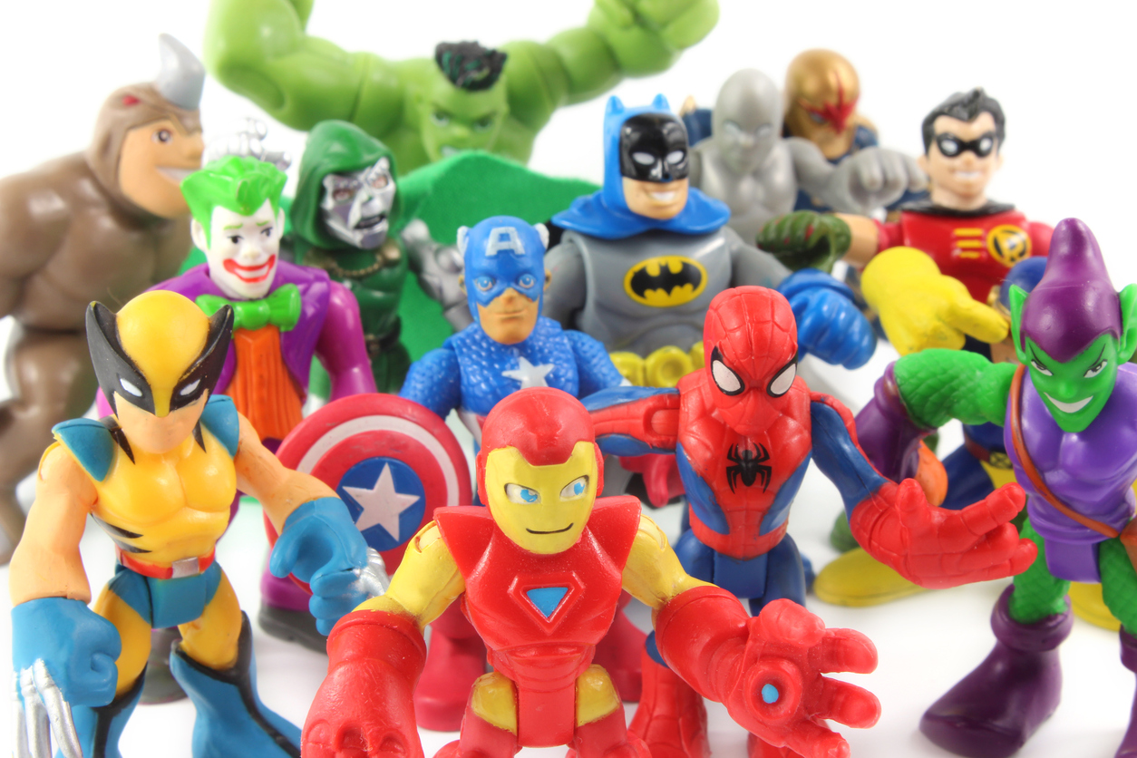 Super Hero Squad toys figurines by Hasbro