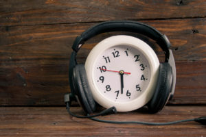 time of music vintage styls