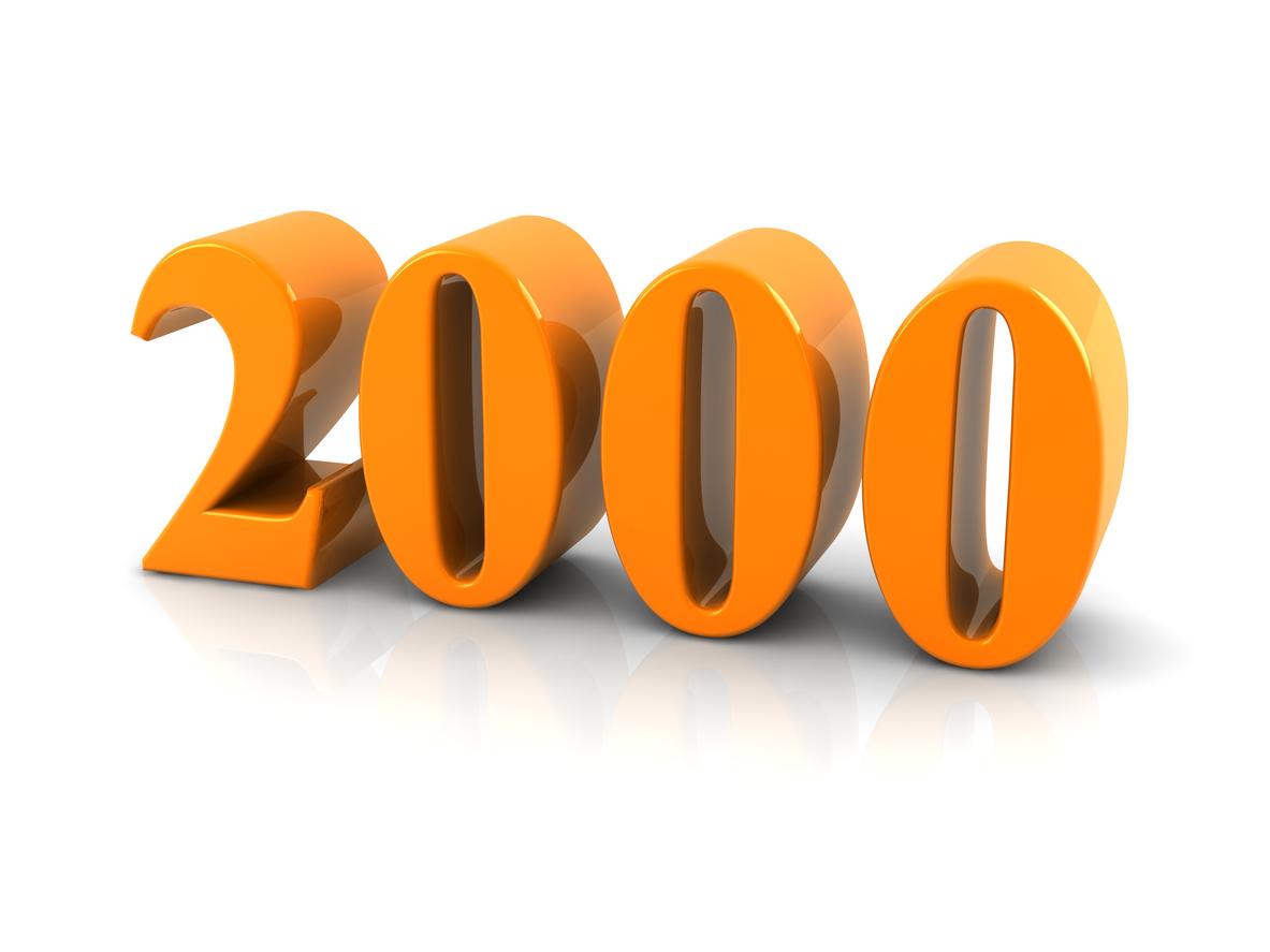 number 2000