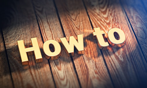 Word How To on wood planks