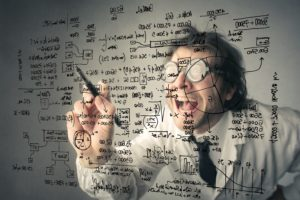 Crazy mathematician