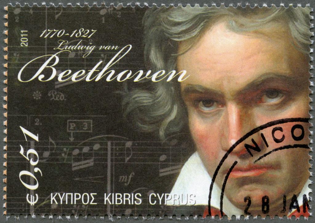 Postage stamp Cyprus 2011 Ludwig van Beethoven (1770-1827)