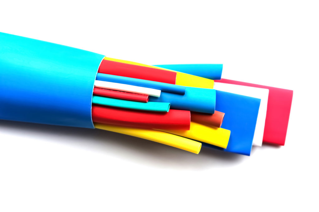 Heat shrink tubing components for cables isolation