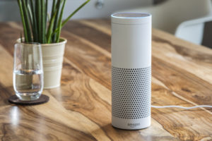 Amazon Echo, the voice recognition streaming device from Amazon