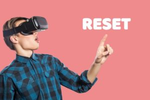 young-man-with-vr-headset-on-pink-background-picture-2