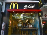 Exterior view of a McDonald's Restaurant in Hong Kong