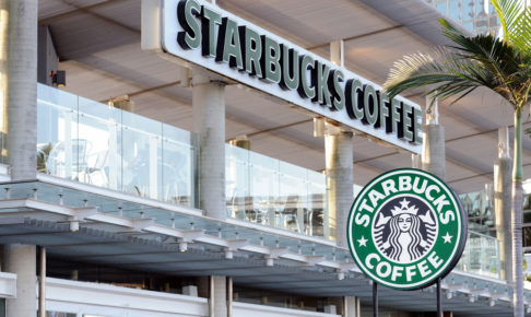 Starbucks Coffee sign