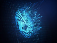Technology of digital fingerprint scanning.