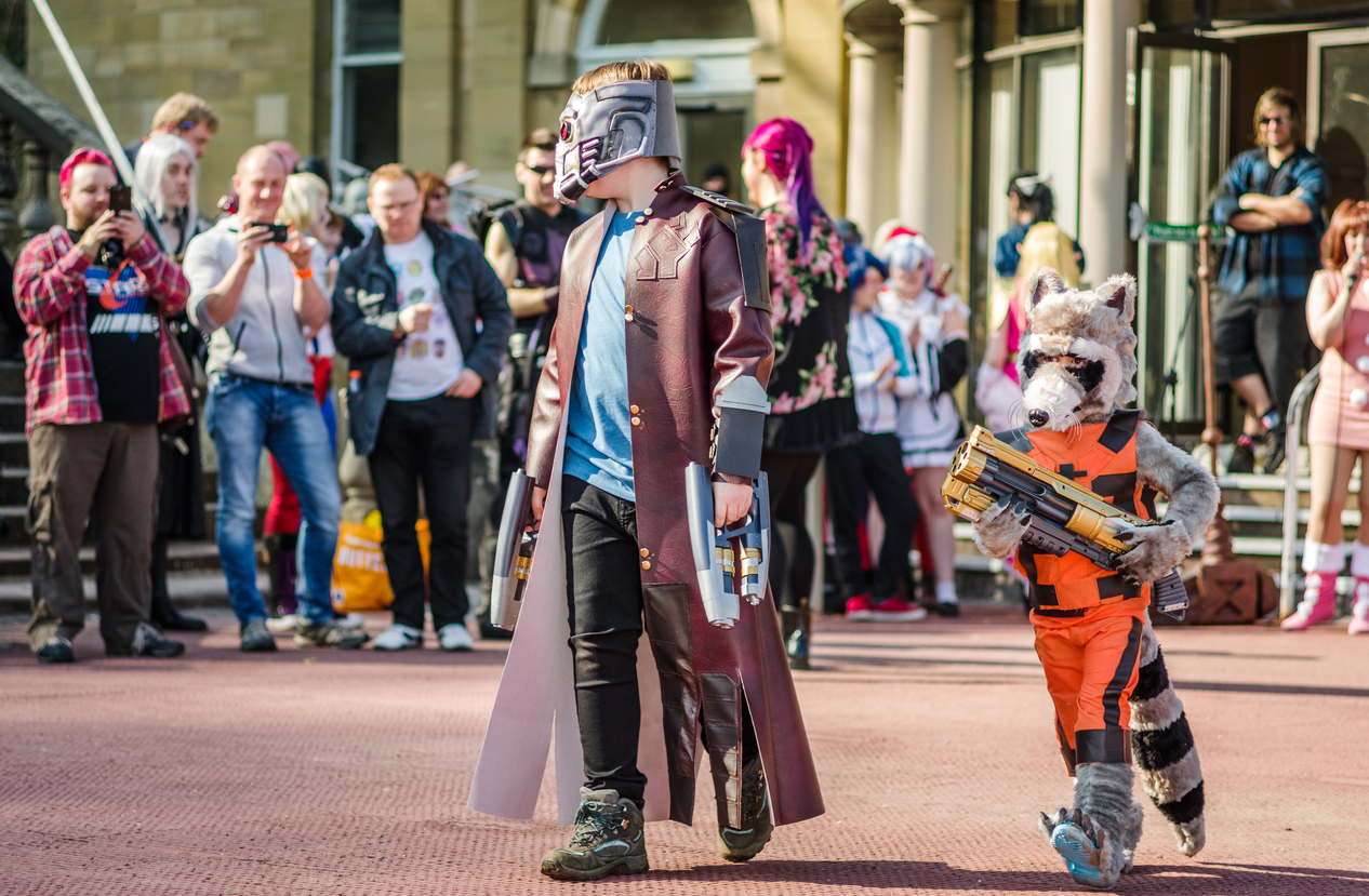 Guardians of the Galaxy cosplay