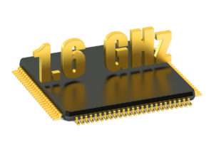 CPU chip for smatphone and tablet 1.6 GHz frequency