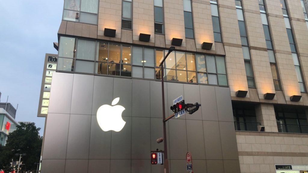 出所:SMATU.net こちらは現在のApple Store、天神西通りと国体道路の交差点にあります。
