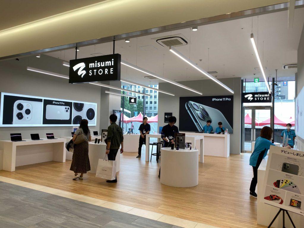 出所:SMATU.net 『misumi STORE』は1階の真ん中くらいに位置しており,もちろん館内の通路からも入店可能.