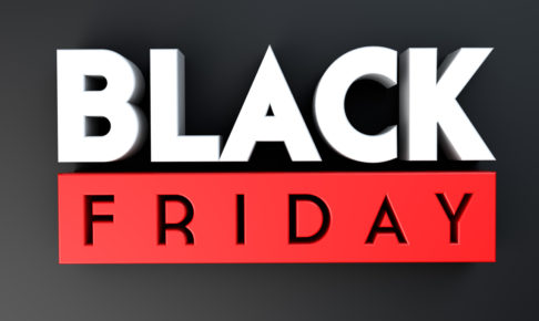Black Friday 3D on black background