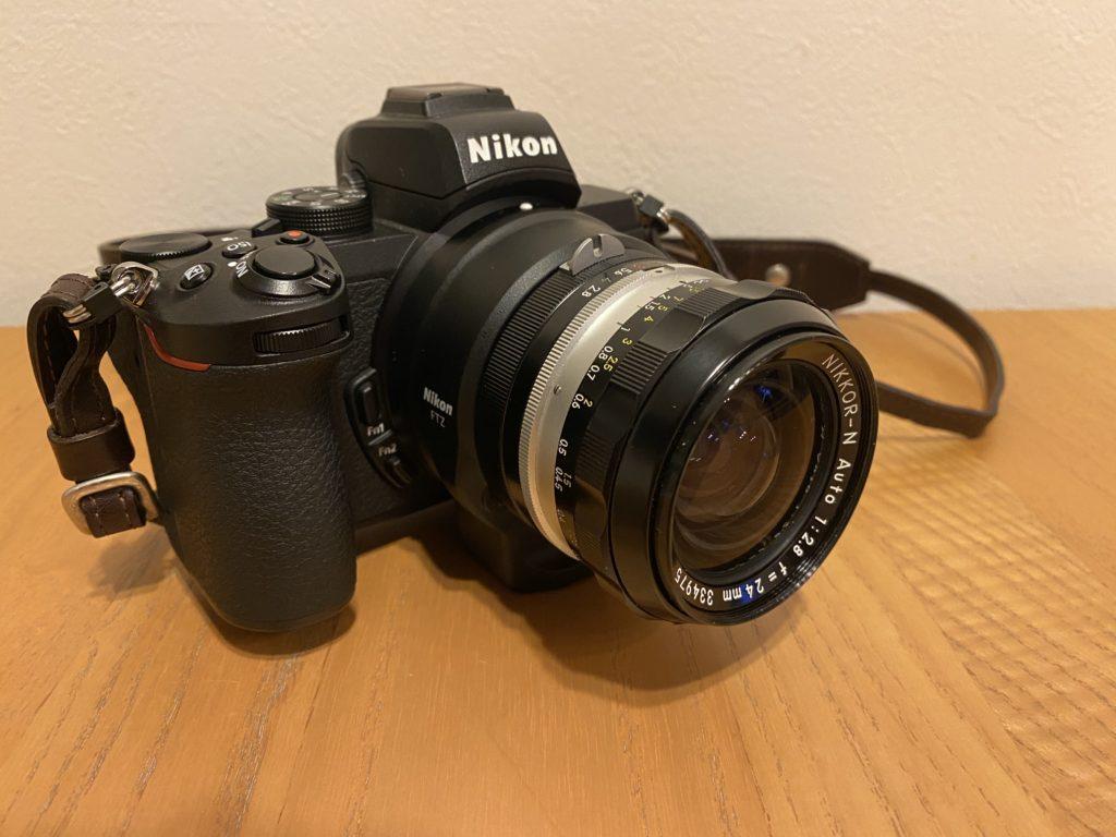出所:SMATU.netにて撮影 Nikon Z50にFTZマウントアダプターを使って装着.やはりオールドレンズは見た目も素敵.