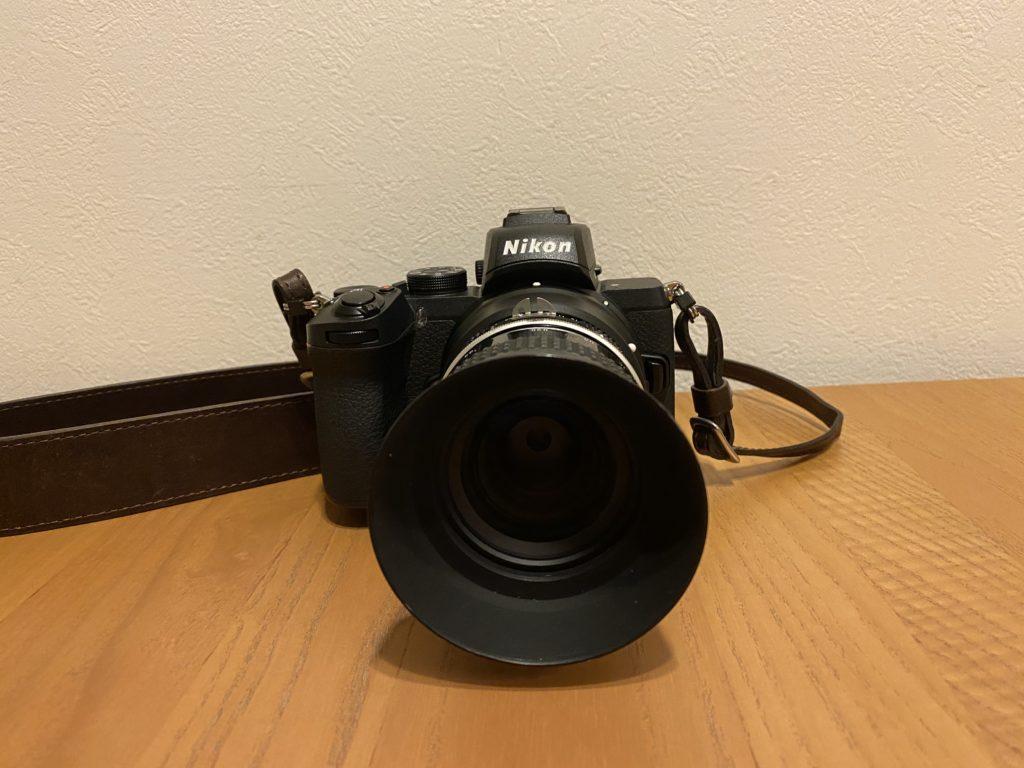 出所:SMATU.netにて撮影 Z50は比較的小さいボディサイズですが,オールドレンズは設計が小ぶりなので見た目のバランスも良いです.