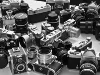 various old cameras