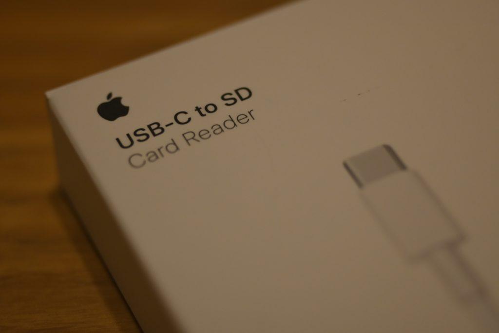 Photo : SMATU.net 正式名称は『USB-C - SDカードリーダー / USB-C to SD Card Reader』です.
