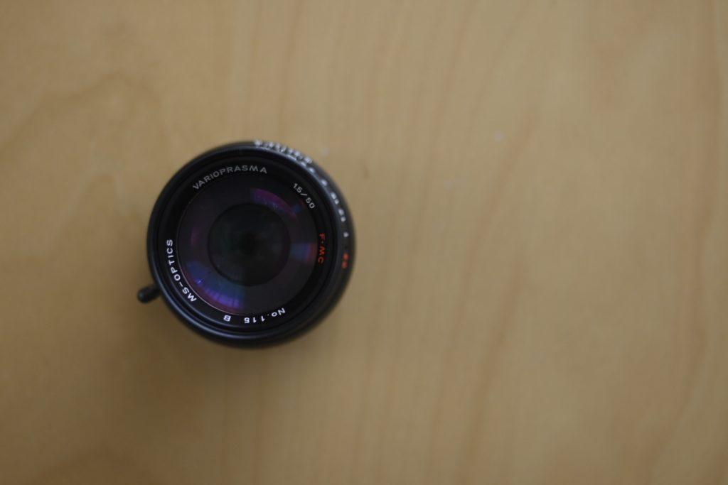 『Vario Prasma 50mm F1.5』独特のソフトフォーカスがいい感じ. これからも大切に使います.