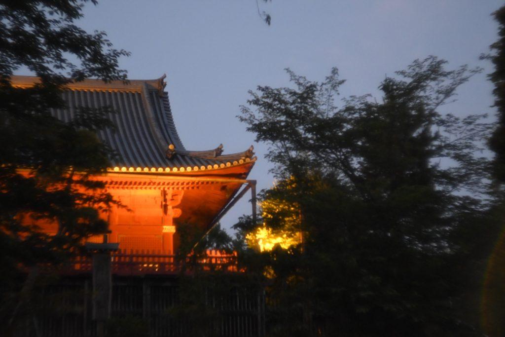 清水観音堂.神社仏閣らしい,この独特の雰囲気を持つ朱が好き.