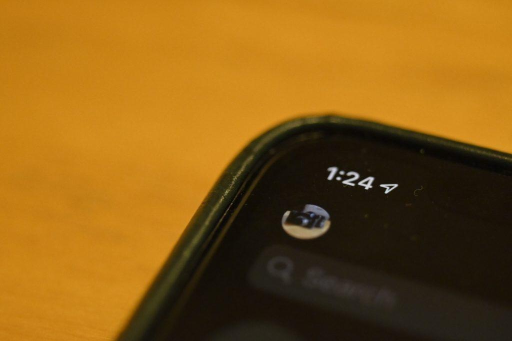 設定はMessengerアプリの画面左上にある,ユーザーアイコンから.