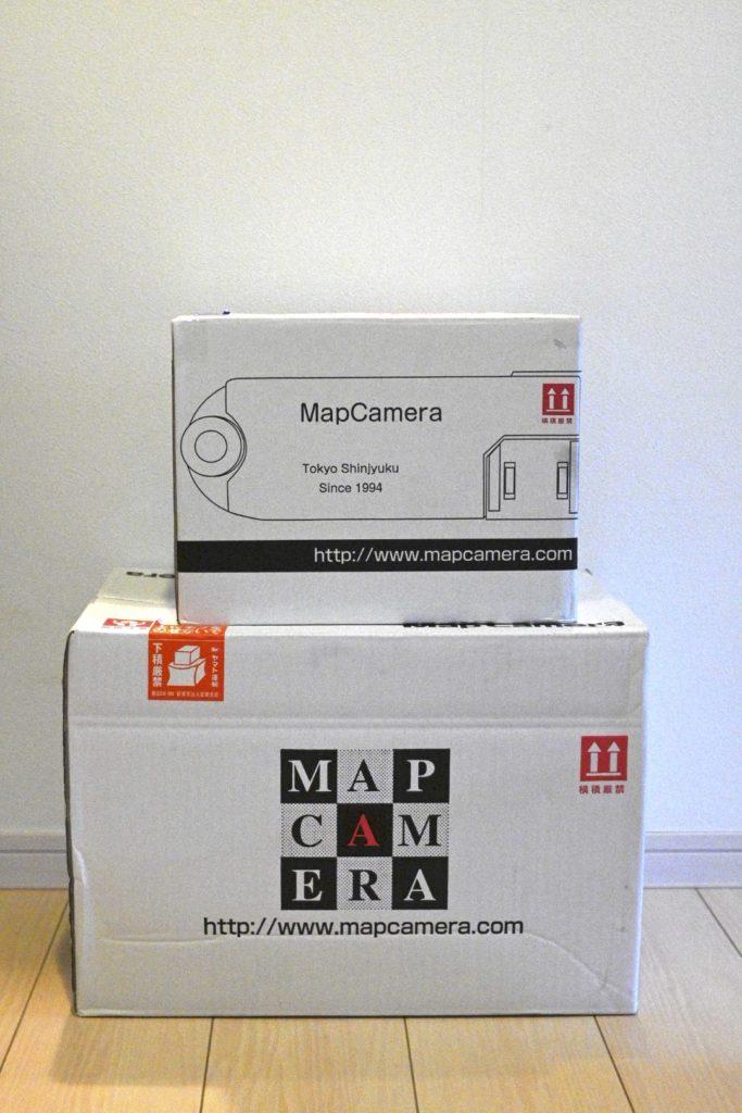 Amazon並みの速さで到着.マップカメラさんありがとう.