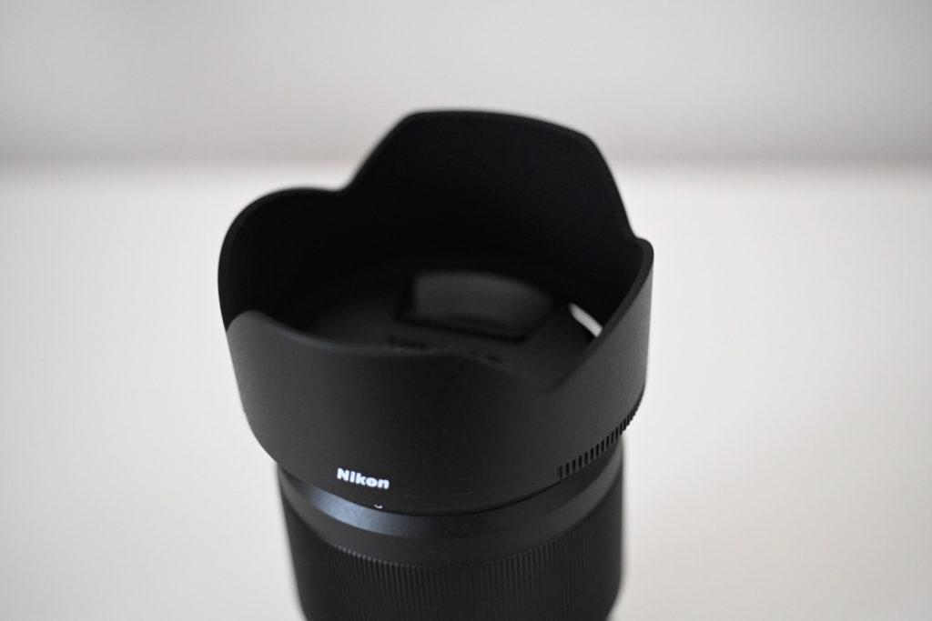純正フード(バヨネットフード(花形フード)HB-90)はこんな形状.