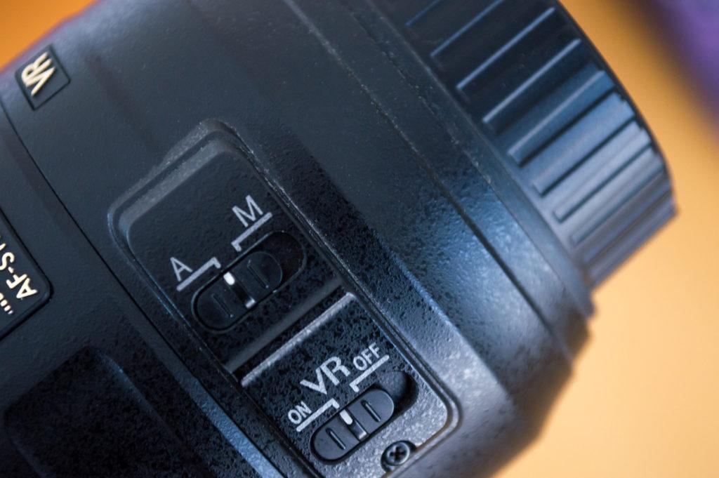 Photo :iStock by Getty Images 「VR」スイッチをONにすると,手ブレ補正機能を有効にできる.