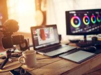 Blogger gear desktop view and Camera Laptop