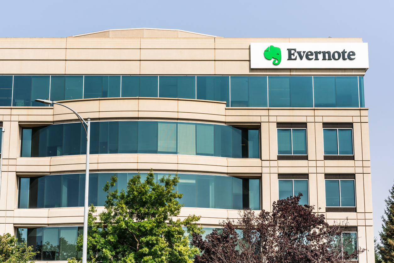 Evernote Corporation headquarters in Silicon Valley