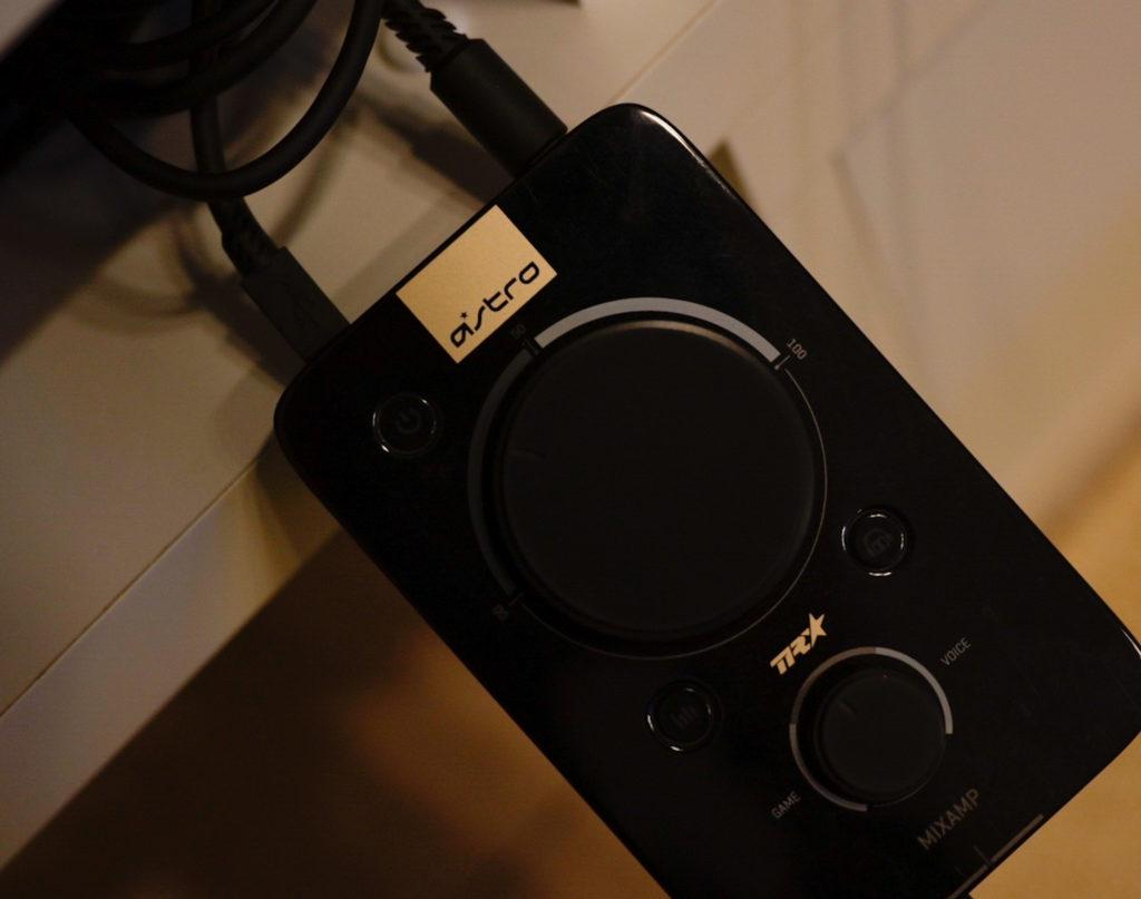 ミックスアンプを使うと,足音が立体的に聞こえるようになる.