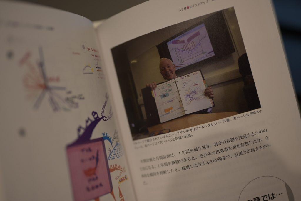 楽しそうにマインドマップを披露している氏を見ると,手書きのマインドマップを作りたくなる.