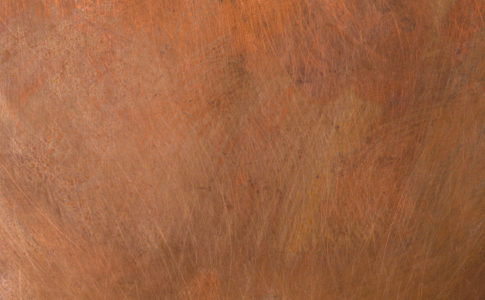 Old metal texture - copper close-up. Background