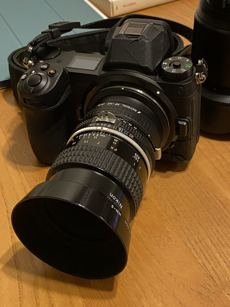 Nikon Z6(初代)に『AI Micro-Nikkor 55mm f/2.8S』を装着.