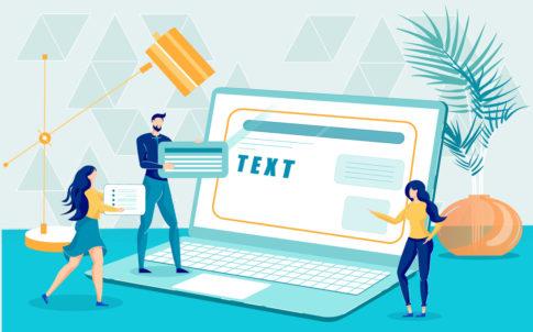 Unique Content Creation for Modern Web Site Design