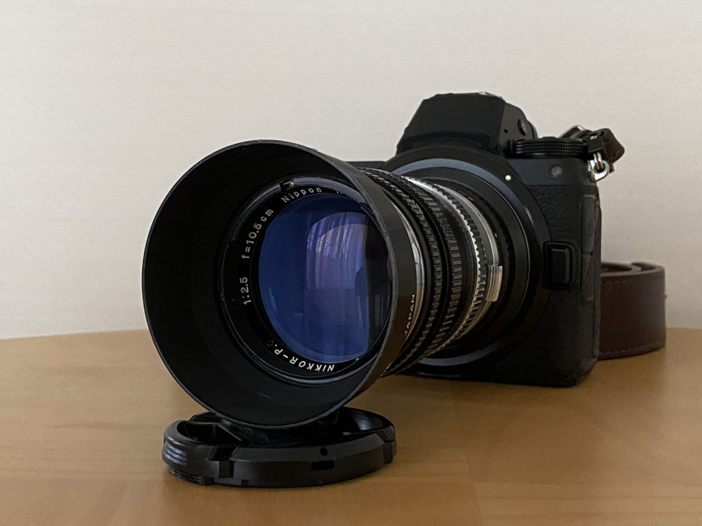 『NIKKOR-P・C 10.5cm F2.5』とZ6は,とてもかっこいいと思う.