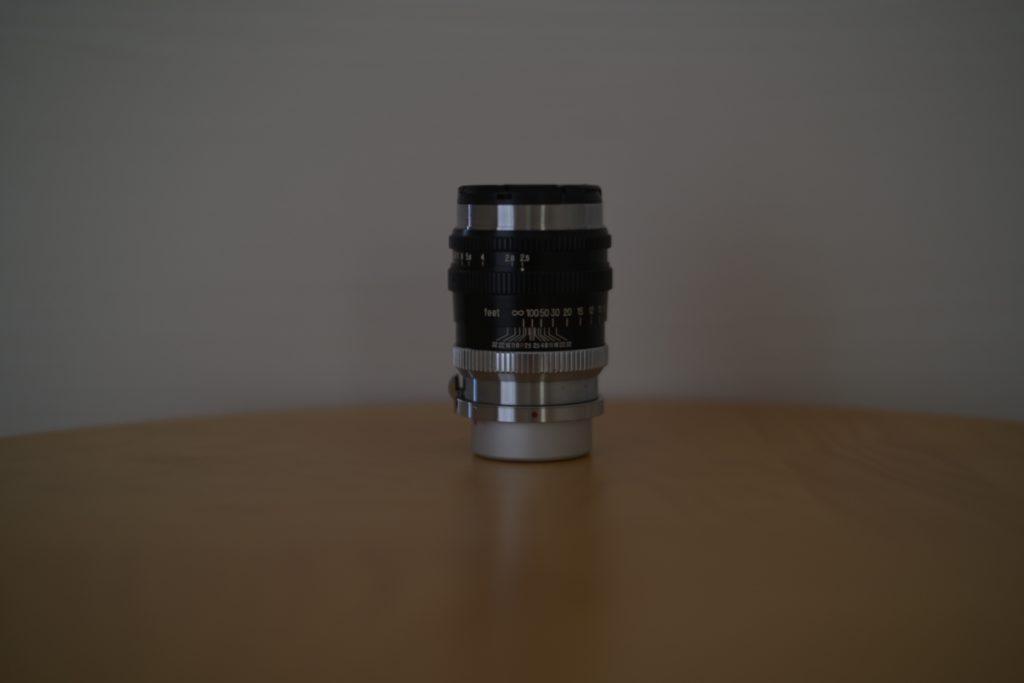 『NIKKOR-P・C 10.5cm F2.5』の外観.