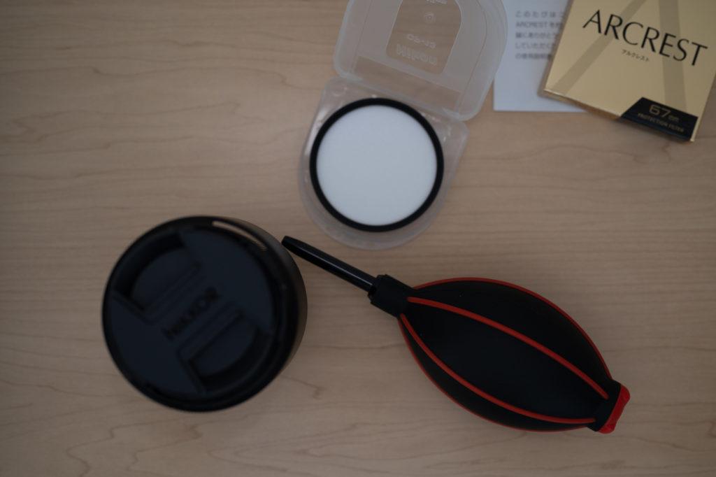 Zマウントレンズの光学性能に惚れ込み,2本目を購入. 保護フィルターは,Nikon純正の『ARCREST/アルクレスト』.