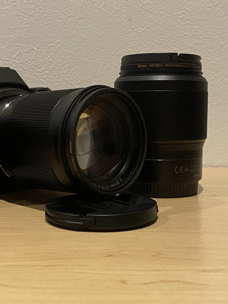 角度によってちらっと目につく「Nikon ARCREST」のロゴ.